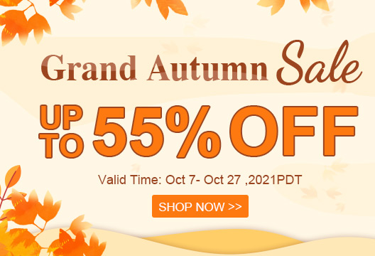 Grand Autumn Sale Up To 55% OFF